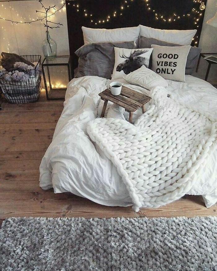 gemütliches schlafzimmer hygge lifestyle