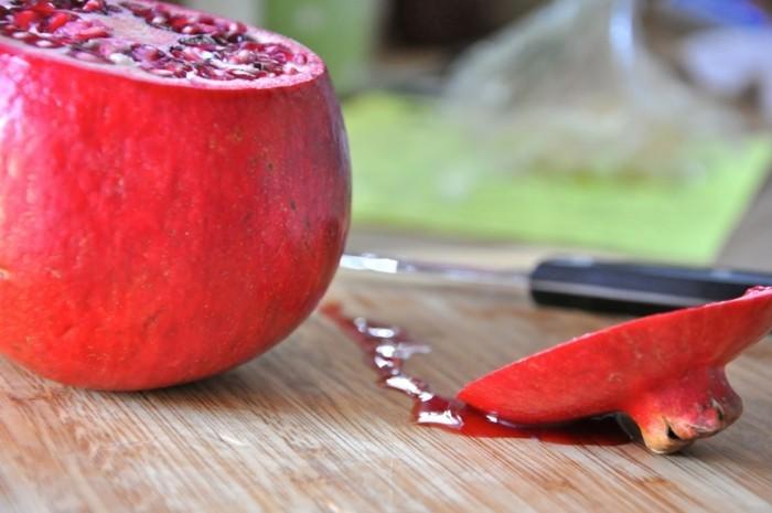 granatapfel essen orientierung erster schritt