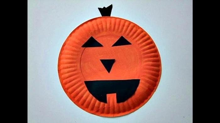 Halloween Deko Basteln herbst deko diy deko ideen deko