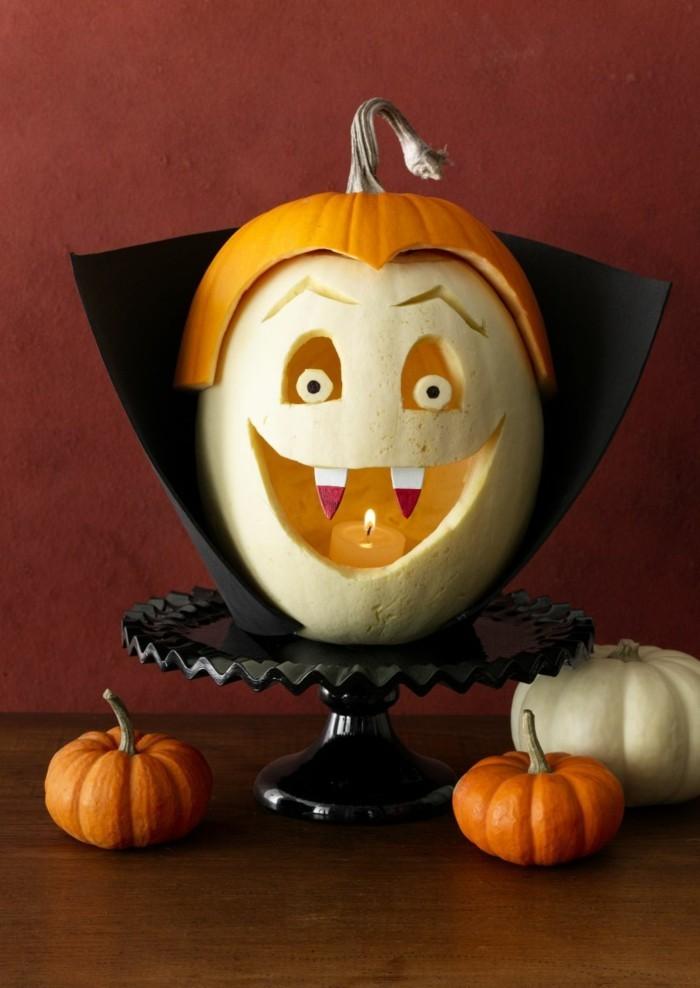 Halloween Deko Basteln herbst deko diy ideen diy besen herbst deko diy deko ideen drakula