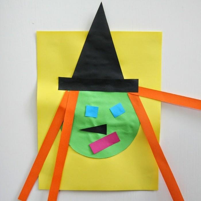 halloween basteln herbst deko diy deko ideen hexe