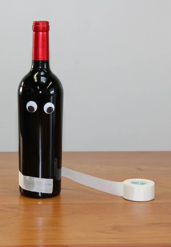 halloween basteln herbst deko diy deko ideen mit flaschen tutorial