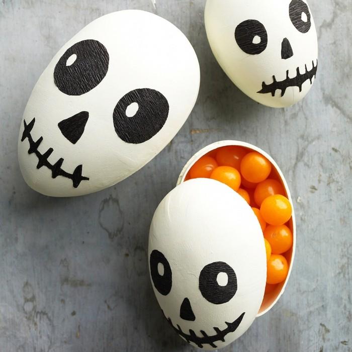 halloween basteln herbst deko diy deko ideen pastillendose