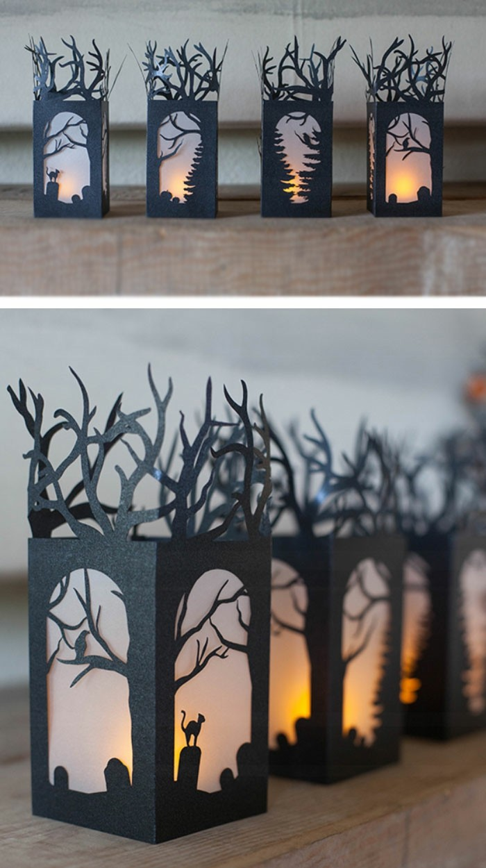 halloween deko basteln ber 70 gruselige diy ideen zum fest des f rchtens. Black Bedroom Furniture Sets. Home Design Ideas