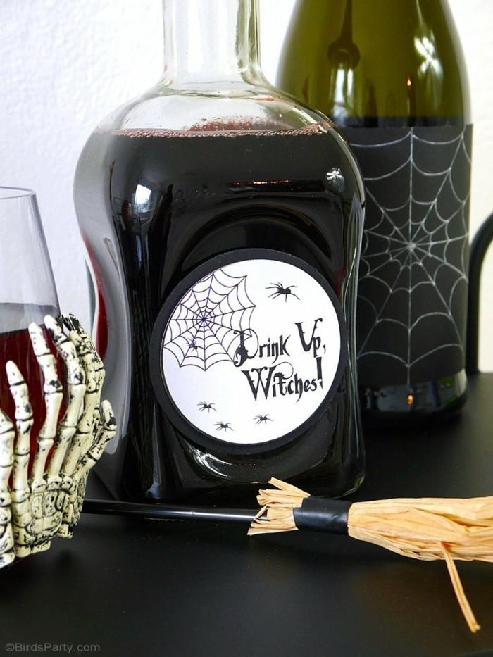halloween basteln herbst deko diy deko ideen stimmung erzeugen