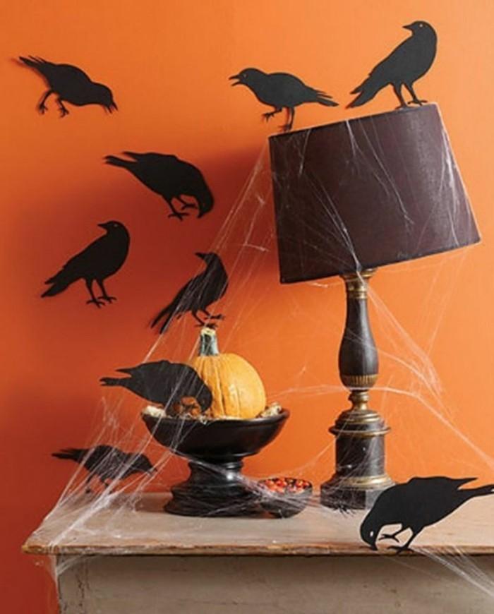 halloween basteln herbst deko diy deko ideen szenarie