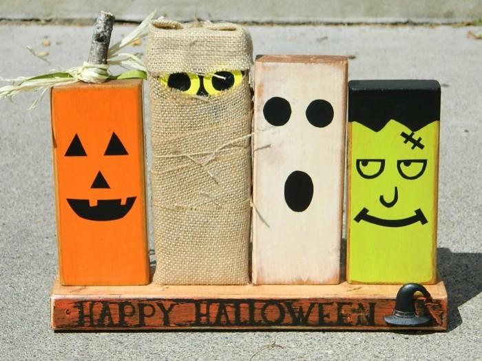 halloween basteln herbst deko diy deko ideen tetrapack