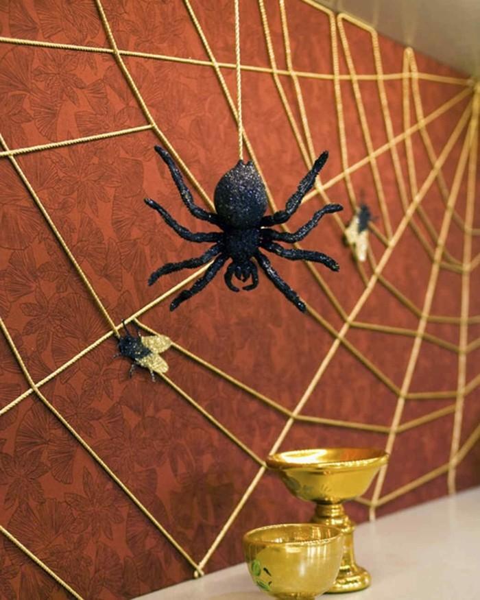 Halloween deko basteln ber 70 gruselige diy ideen zum for Wanddeko herbst