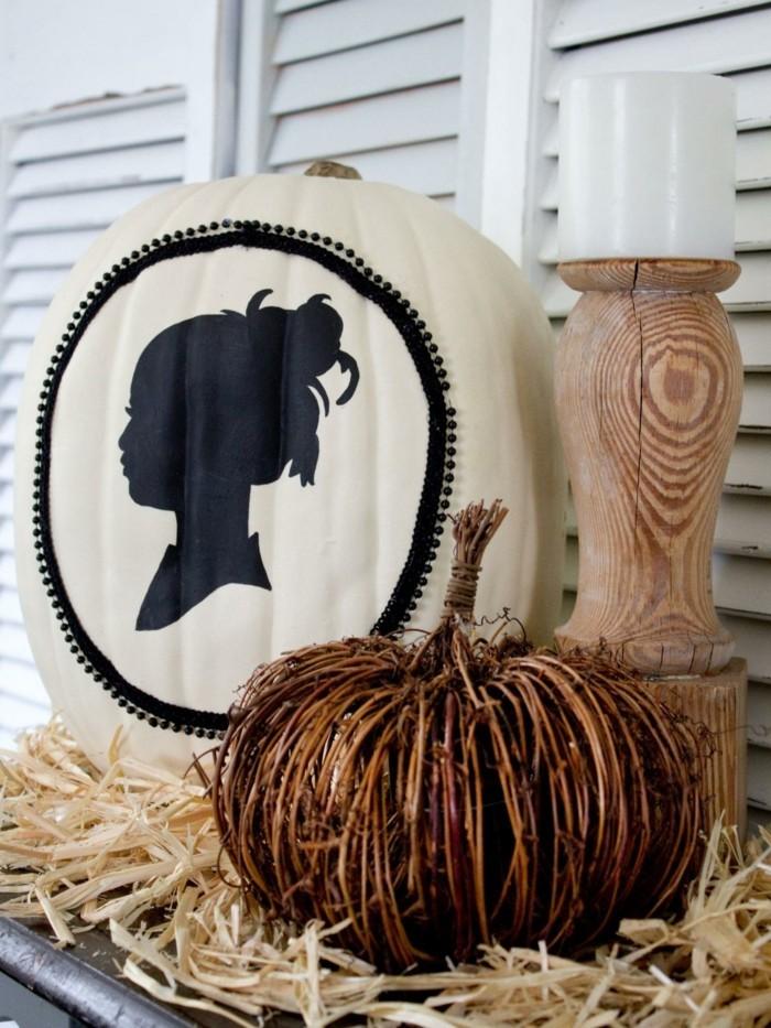 33 bastelideen halloween selber gebastelte deko bringt. Black Bedroom Furniture Sets. Home Design Ideas