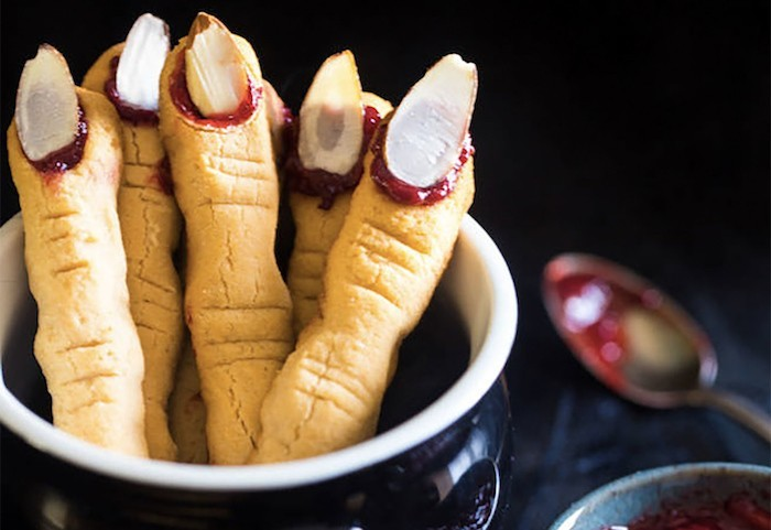 halloween fingerfood ideen hexenfinger backen rezepte