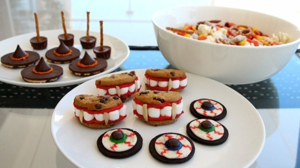 halloween fingerfood und kekse ideen