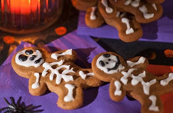 halloween ingwer plätzchen halloween party ideen