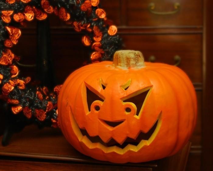 halloween kuerbis schnitzen ideen für die gruselparty