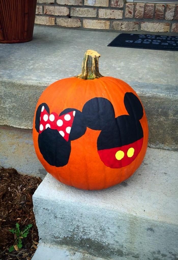 halloween kuerbis kreative ideen wie man kürbisse bemalen kann