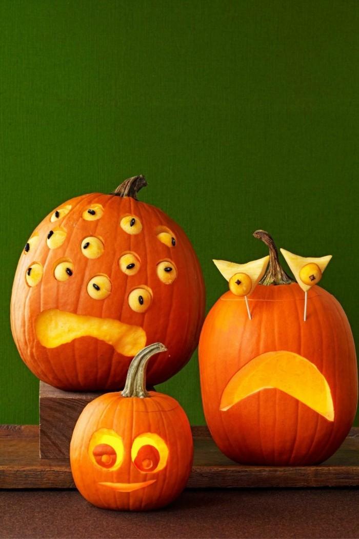 halloween kuerbis schnitzen diy dekoideen zum fest
