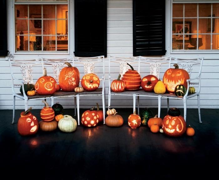 halloween kuerbis schnitzen kreative ideen für die gruselparty