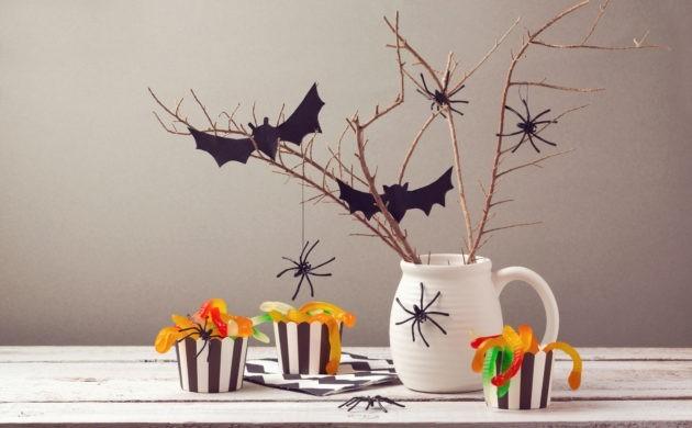 halloween deko 1000 neue gruselige dekoideen f r ihre. Black Bedroom Furniture Sets. Home Design Ideas