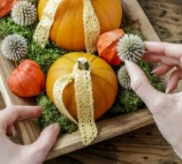 Kürbisse im Blickfang – Herbstdeko mit Kürbissen in 60 Beispielen