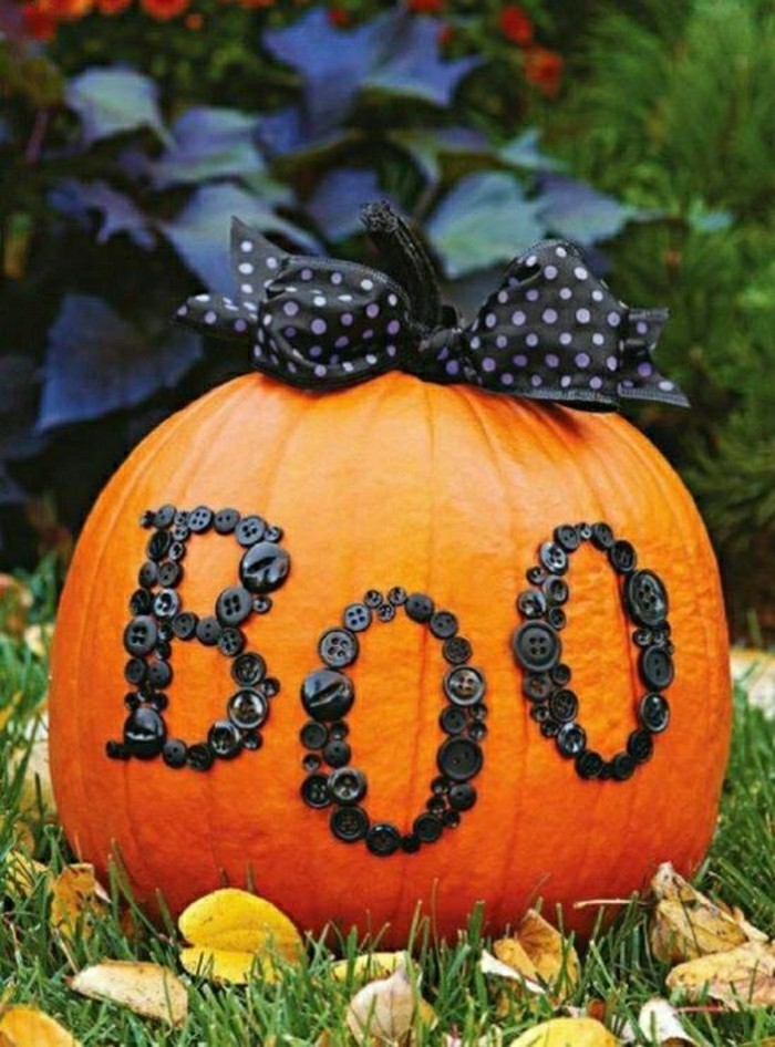 kuerbisse herbstdeko mit kürbissen zu halloween diy deko
