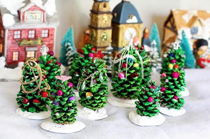 herbstdeko winterdeko basteln tuerkranz weihnachts shcmuckstaender