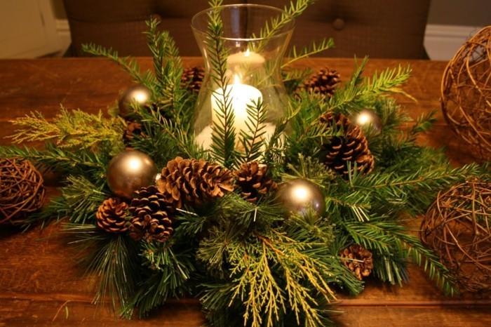 herbstdeko winterdeko basteln tuerkranz weihnachtsdeko