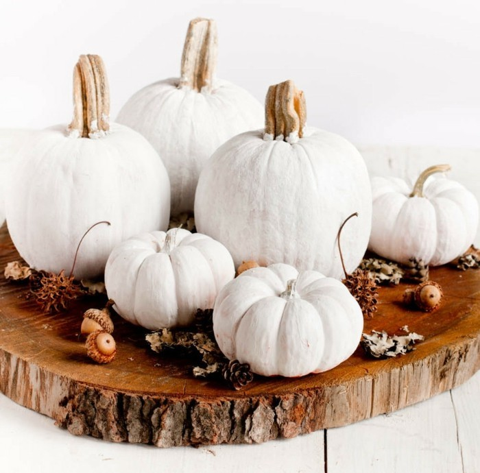 Kürbisse im Blickfang - Herbstdeko mit Kürbissen in 60 Beispielen