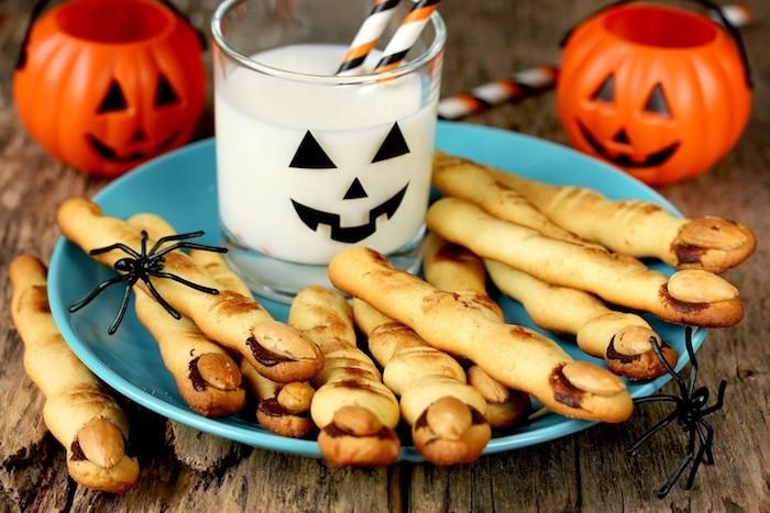 hexenfinger backen halloween snacks
