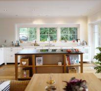 Offene Küche in Weiß – Strategien für die moderne Raumgestaltung