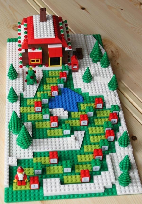 ideen für adventskalender kinder lego spannend