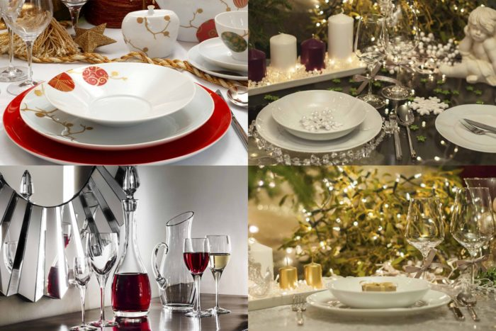 Ideen Für Die Weihnachtliche Tischgestaltung Moderne Weihnachtsdeko ...