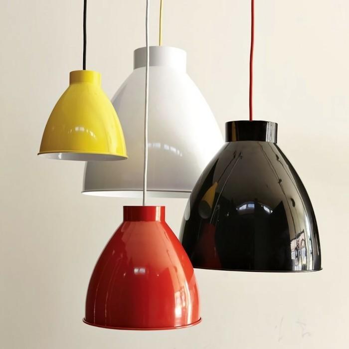 industrielampe hängelampen in verschiedenen farbtönen