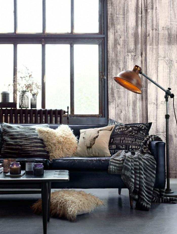 lampen design ideen wohnzimmer beleuchten industriell