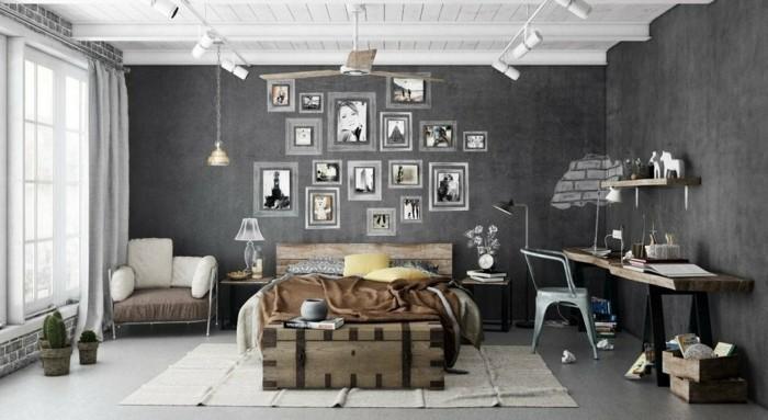 industrielampe wohnideen wohnzimmer für eine moderne beleuchtung