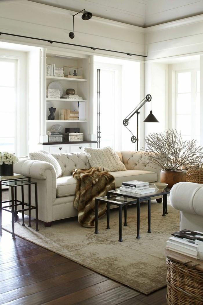industrielampe wohnzimmer beleuchten ideen