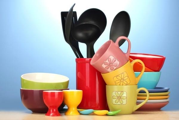 kräftige Farben Küchen Set Weihnachtsgeschenk Eltern