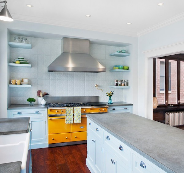 küche interior aus beton