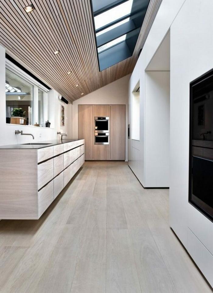 k che dachschr ge 50 ideen f r ein auff lliges k chendesign. Black Bedroom Furniture Sets. Home Design Ideas
