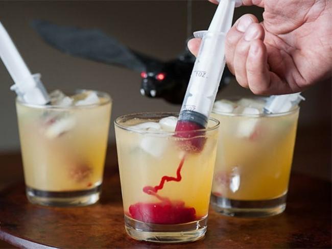 kunstblut selber machen vampir cocktail idee