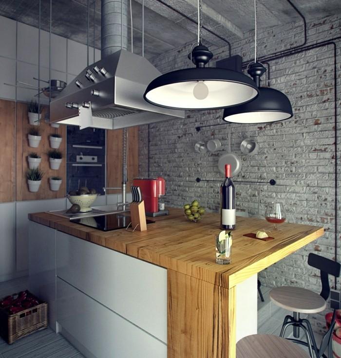 Industrielampe Verleiht Räumen Einen Einmaligen