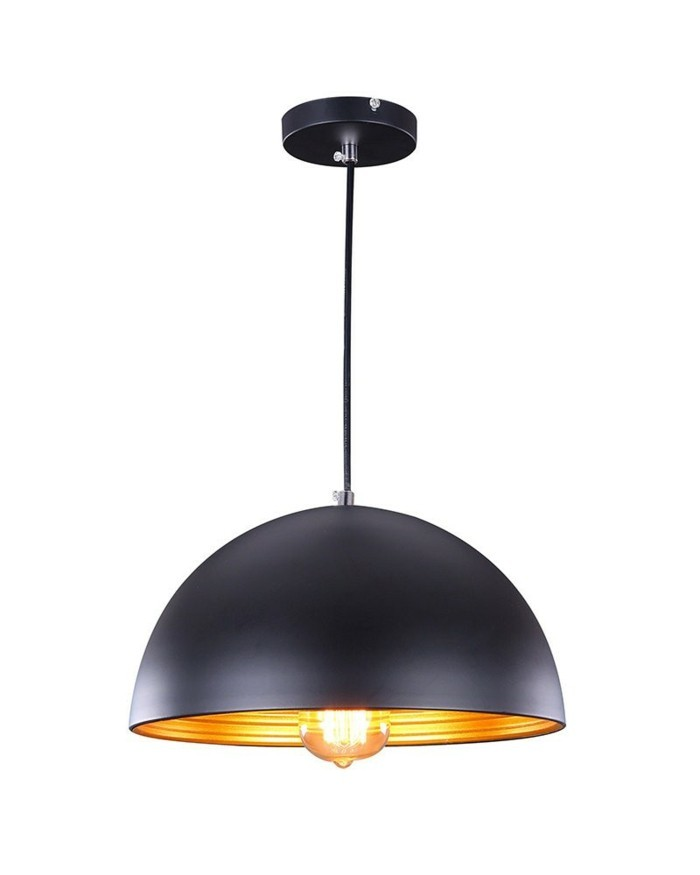 lampenschirm schwarz fabriklampen hängelampe