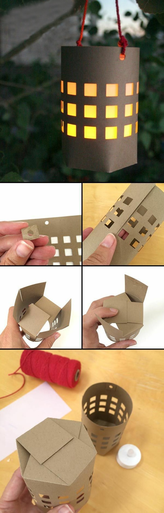 laterne-selber-basteln-papierlaterne ideen