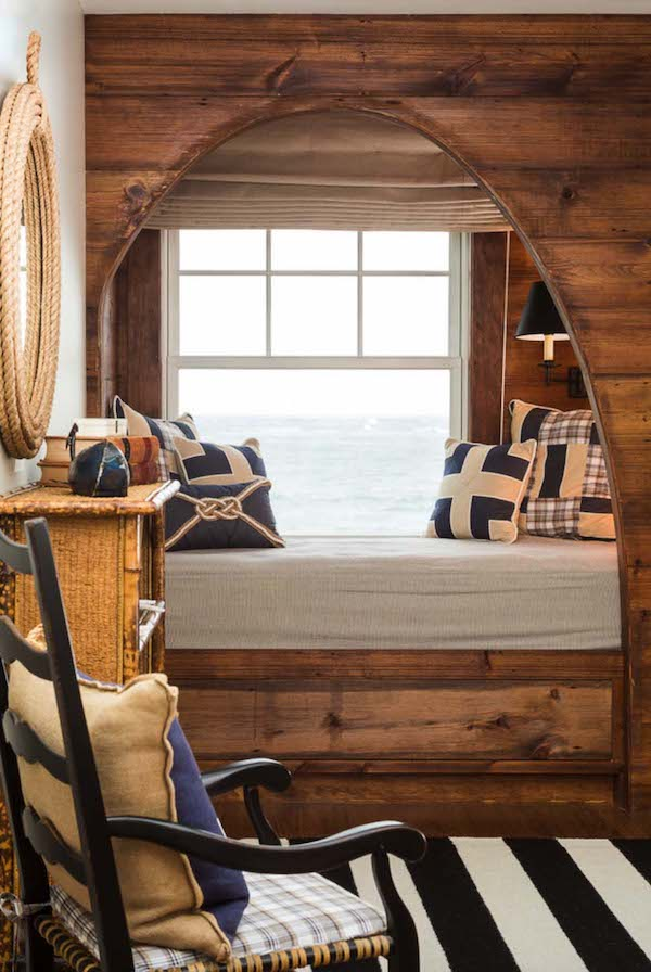 Leseecke einrichten wo lesen stundenlang spa machen kann - Fensterbank gestalten ...