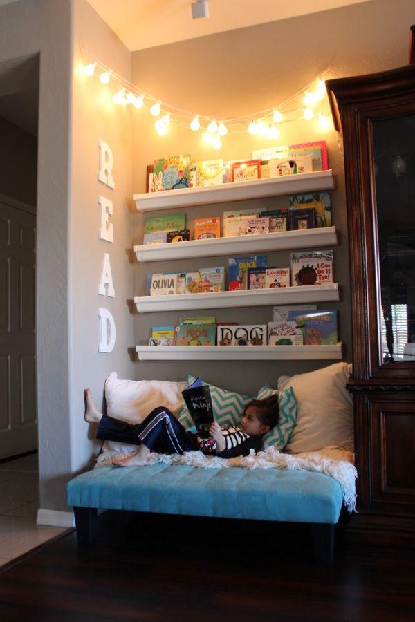 Leseecke kinderzimmer  Leseecke einrichten, wo Lesen stundenlang Spaß machen kann