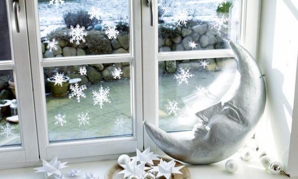 märchenhafte fensterdeko im advent