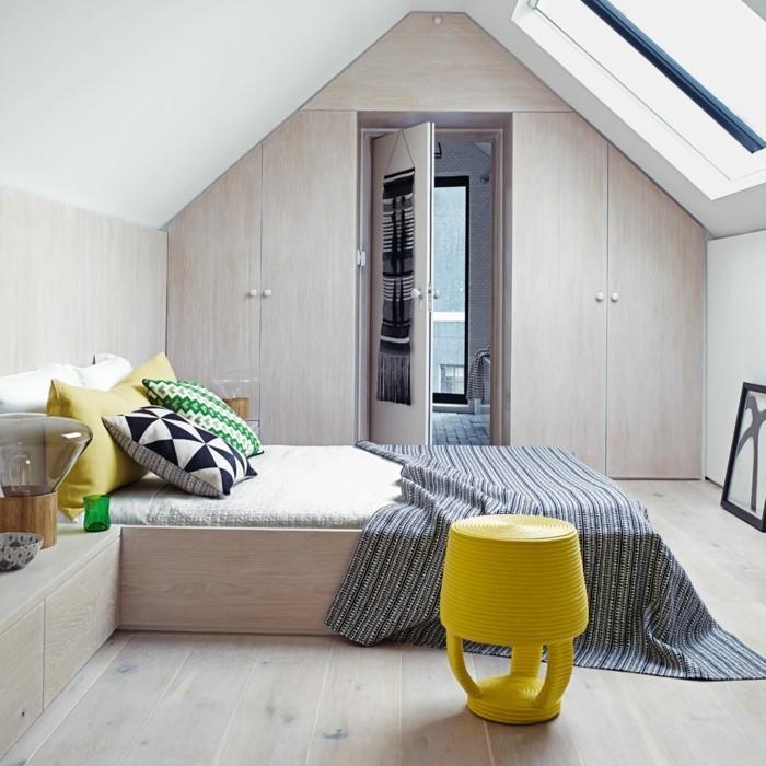 möbel für dachschräge funktionale wohnideen