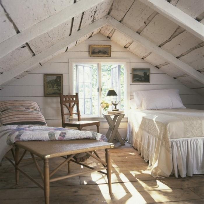 möbel für dachschräge gemütliches schlafzimmer gestalten