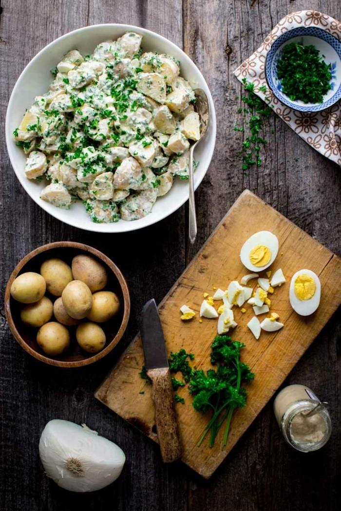 meerrettich rezept heilpflanze kartoffelsalat mit meerrettich