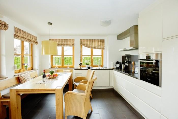 moderne küche kontrastreich gestalten