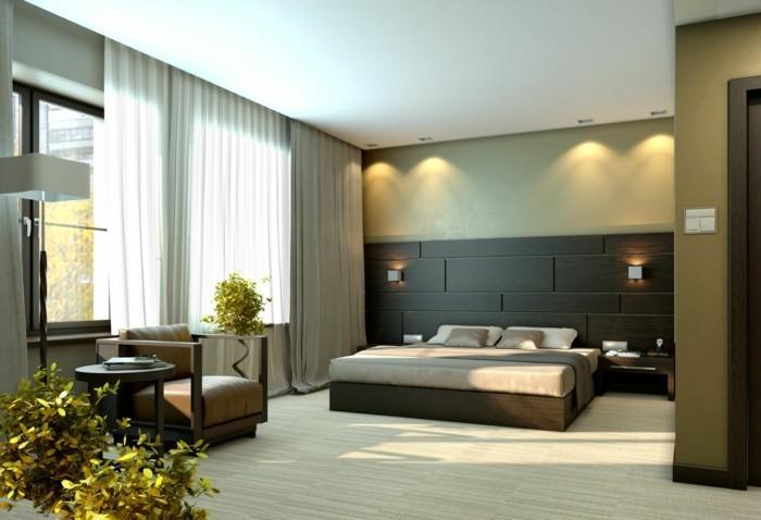 modernes schlafzimmer einrichten ideen neutrale farben