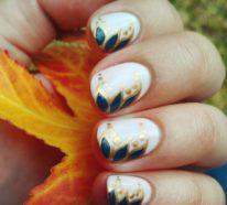 Fingernägel Design – Nageldesign Herbst in 33 Beispielen